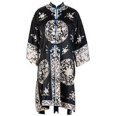 VINTAGE, Hand Embroidered Chinese Robe