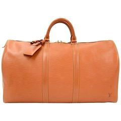 Orange Luggage and Travel Bags