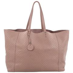 Bottega Veneta Tote Butterfly Embossed Intrecciomirage Intarsio Leather Large