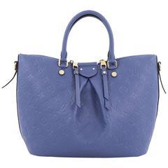 Louis Vuitton Mazarine Handbag Monogram Empreinte Leather MM