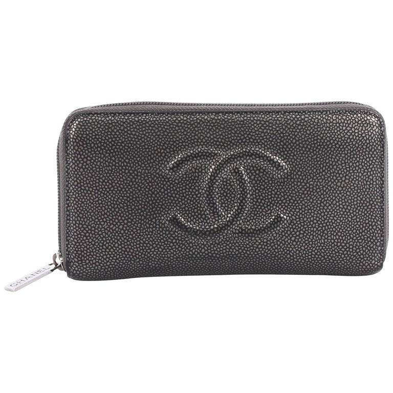 e991c410f5cfb9 Chanel Timeless CC Zipped Wallet Caviar Long at 1stdibs