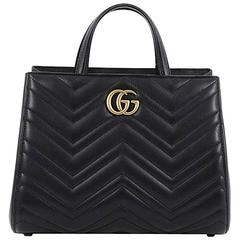 Gucci GG Marmont Tote Matelasse Leather Small