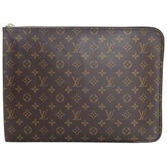 Louis Vuitton Monogram Poche Documents Portfolio Case