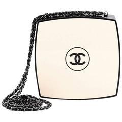 Chanel CC Box Clutch Plexiglass Small