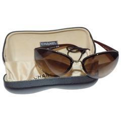 Chanel Sunglasses in Case