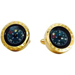 Men's Tateossian of London  Fabulous Functioning Compass Cufflinks