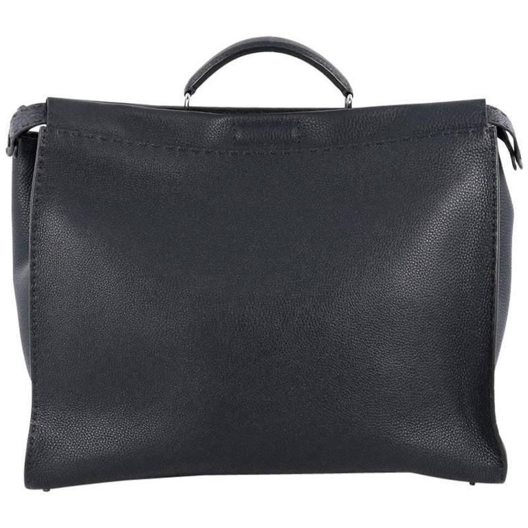 15581bd9392d Fendi Selleria Peekaboo Monster Handbag Leather XL at 1stdibs