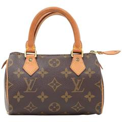 Louis Vuitton Mini Speedy Sac HL Monogram Canvas Hand Bag