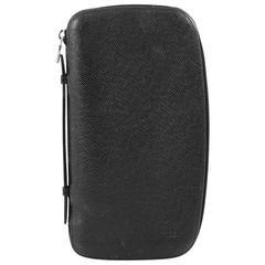 Louis Vuitton Atoll Organizer Wallet Taiga Leather