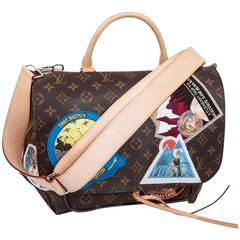 "LOUIS VUITTON Camera Messenger Bag Model ""THE ICON and THE ICONOCLASTS"""