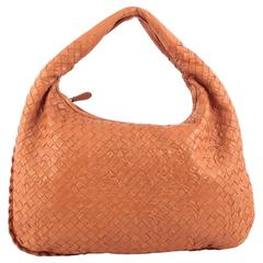 Bottega Veneta Veneta Hobo Embossed Intrecciato Nappa Medium
