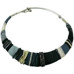 Christian Lacroix Vintage Masai Inspired Choker Necklace