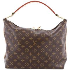 7682f4a85b53 Louis Vuitton Sully Handbag Monogram Canvas PM