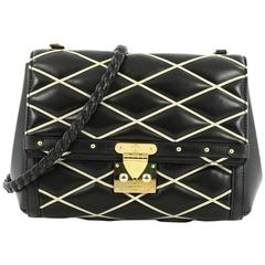 Louis Vuitton Pochette Flap Malletage Leather