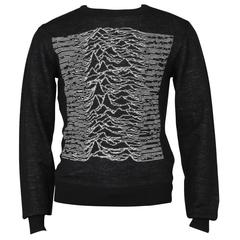 Raf Simons and Peter Saville Joy Division Unknown Pleasures Sweater 2003-04