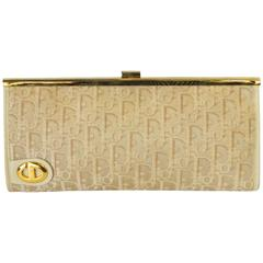 1960s Christian Dior Monogram Printed Clutch