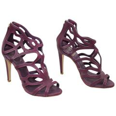 Dior amazing Leather High heel Sandals. Size US 4.5 (FR 35.5)