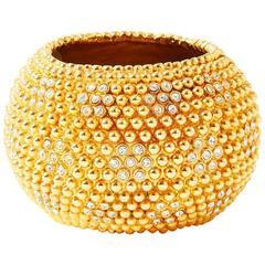 Yves Saint Laurent Jeweled Cuff