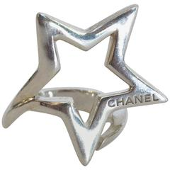 Chanel Sterling Shooting Star Ring