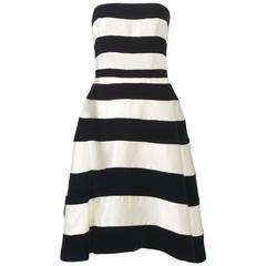 Victor Costa Strapless Dress