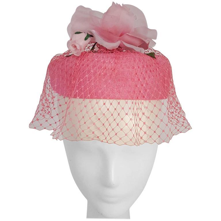 1960s Circlet Hat w/ Veil