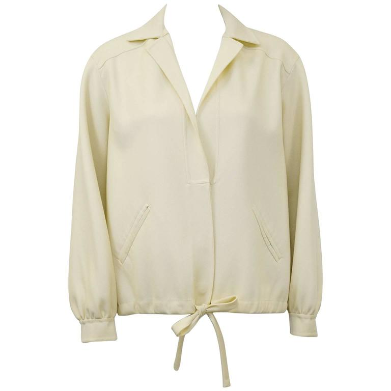 1970's Mila Schon Cream Jacket