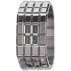 Chanel Chocolat Silver Stainless Steel Watch