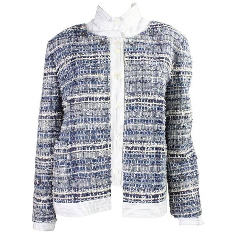 Dolce & Gabbana Woven Denim Jacket
