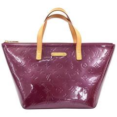 Louis Vuitton Bellevue PM Purple Violet Vernis Leather Hand Bag