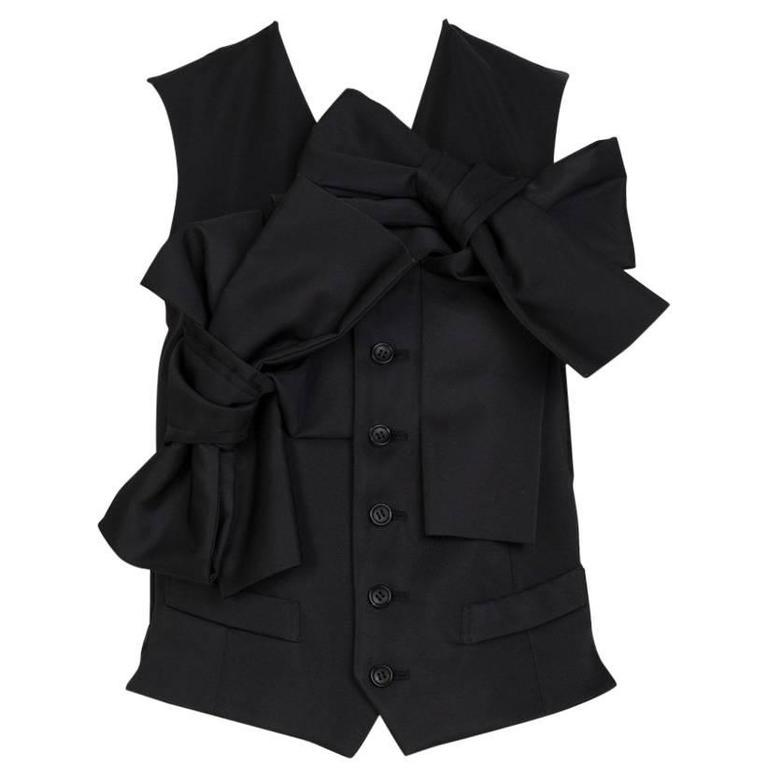 COMME DES GARÇONS Feminine Bowed Vest