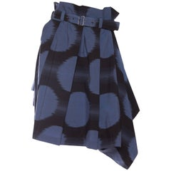 Early Issey Miyake Paper-Bag Skirt/Shorts