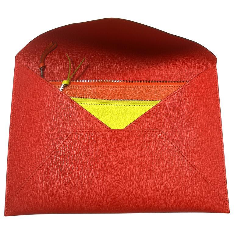 Hermès Enveloppe Trio wallet GM / Brand new  For Sale