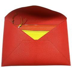 Hermès Enveloppe Trio wallet GM / Brand new
