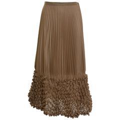 ISSEY MIYAKE Authentic Origami Pleateds Skirt