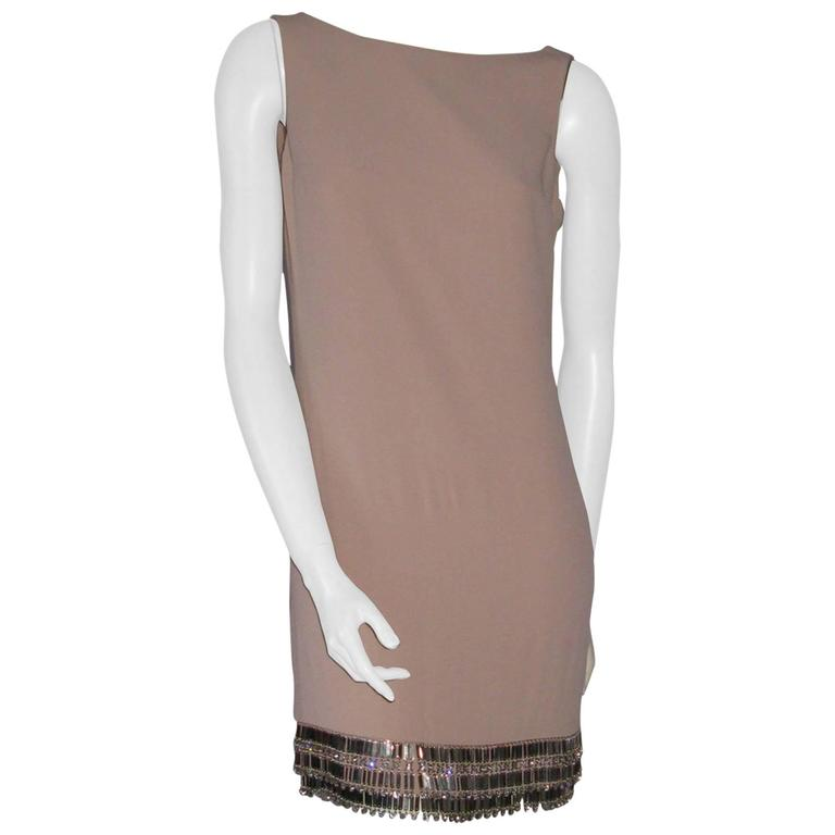 AZZARO Size 38 FR Short Pink Dress For Sale