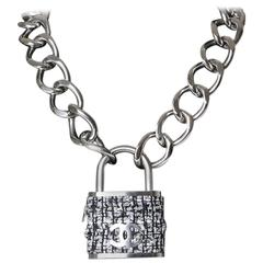 Chanel Boucle Padlock Necklace