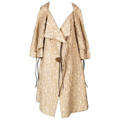 Vivienne Westwood Golden Brocade Opera Coat