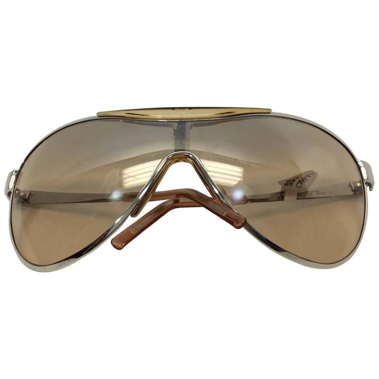 Christian Dior Metal Golden Sunglasses