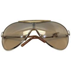 Christian Dior Metal Golden Sunglasses