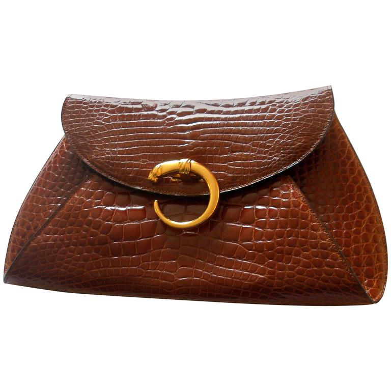 Rare Cartier Panthere Vintage Clutch For