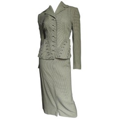 1940's Fabulous Davidson's Button Suit