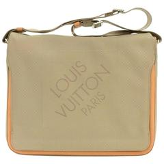 Louis Vuitton Messager Gray Damier Geant Canvas Messenger Laptop Bag