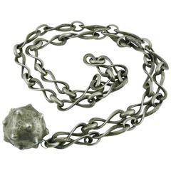 Lanvin Vintage Medieval Revival Sautoir Necklace