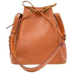 Vintage Louis Vuitton Petit Noe Cipango Gold Epi Leather Shoulder Bag