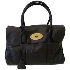 Mulberry Genuine Brown Leather Tote Bag
