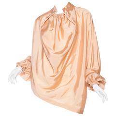 Early Issey Miyake Silk Blouse