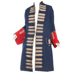 Phenomenal Antique French Opera Costume Military Coat