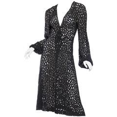1930s Lace Dress with Art-Deco Details
