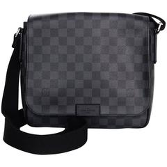 Louis Vuitton Graphite Damier District PM Crossbody Bag