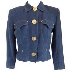Versus by Gianni Versace Denim Jacket